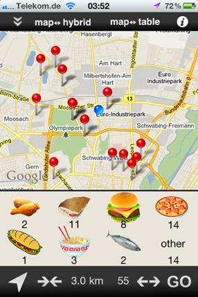 Fast Food OSM
